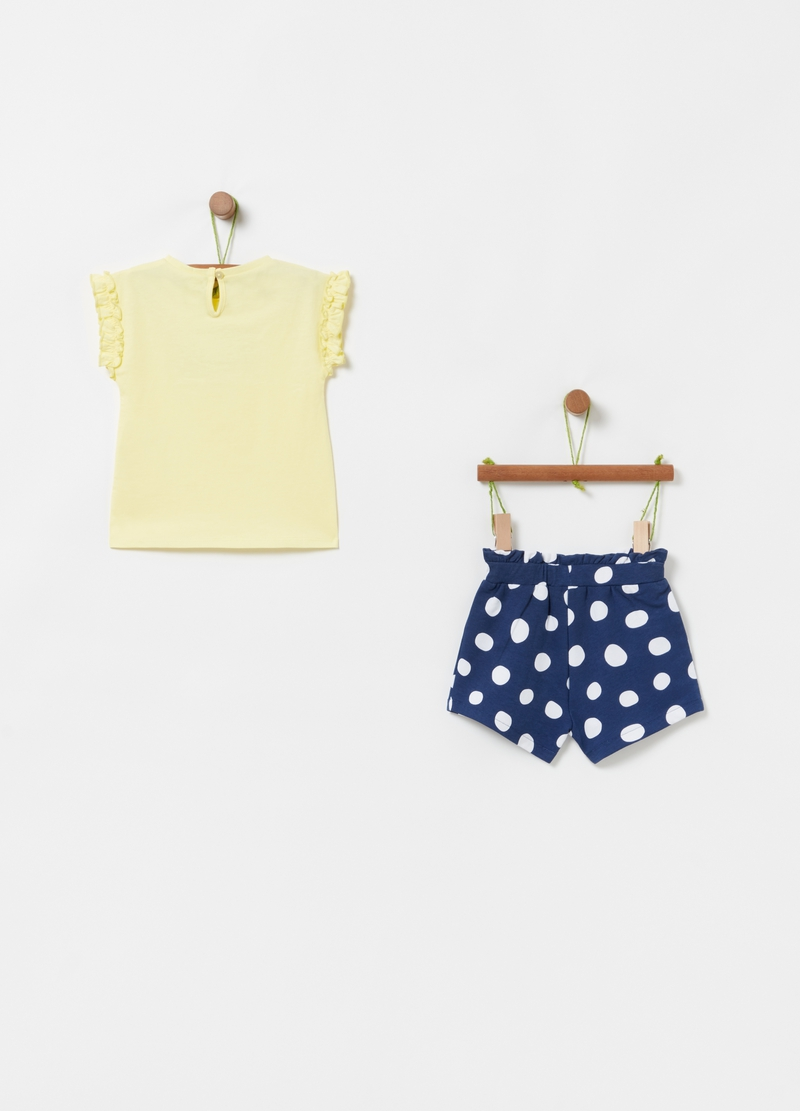 Set t-shirt e shorts stampa Disney Minnie image number null