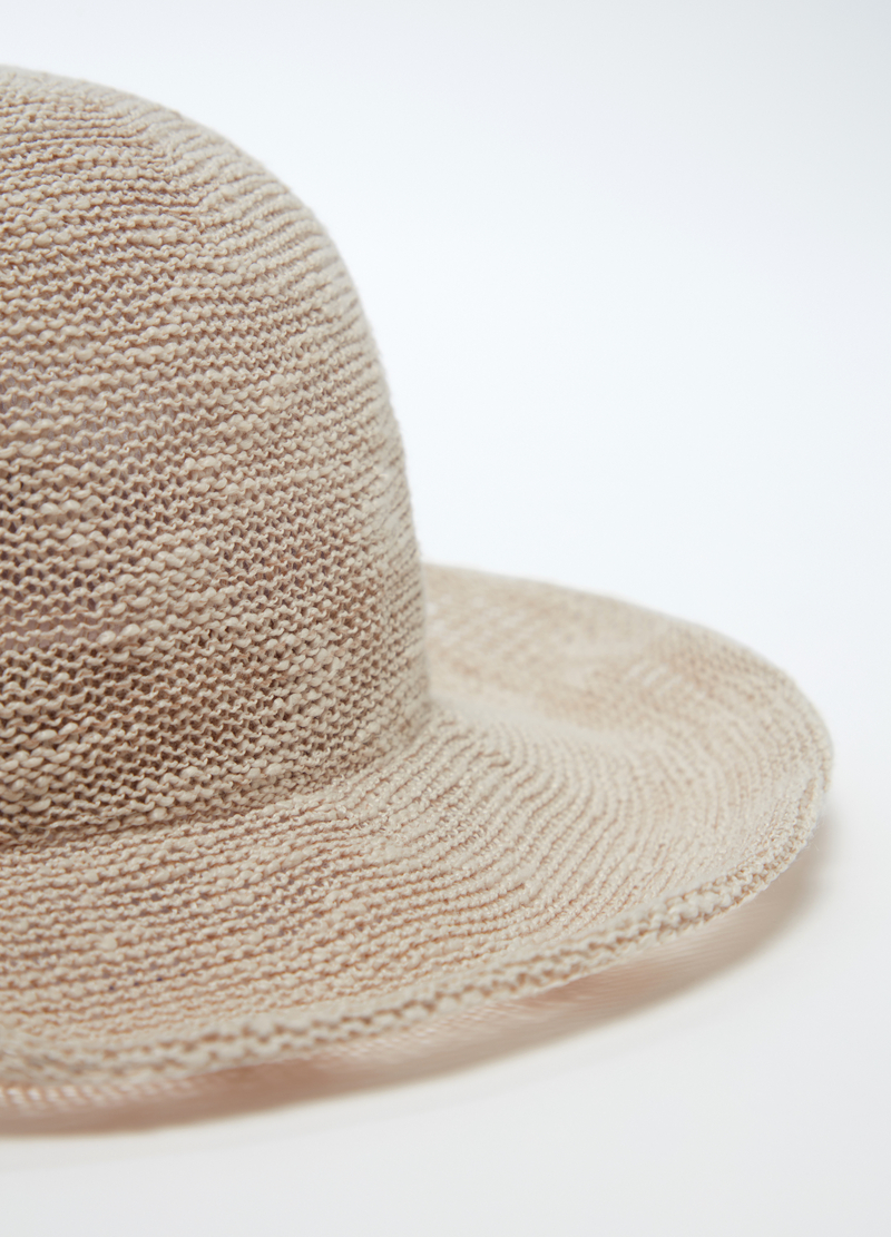 Openwork fabric folding hat image number null