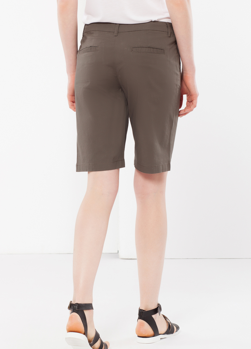 Stretch Bermuda shorts image number null