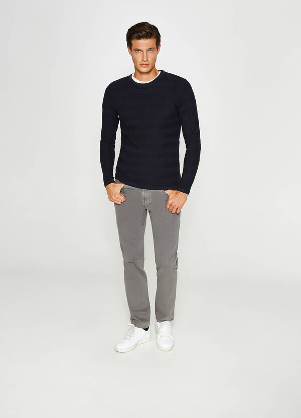 Jogger-fit stretch trousers | OVS
