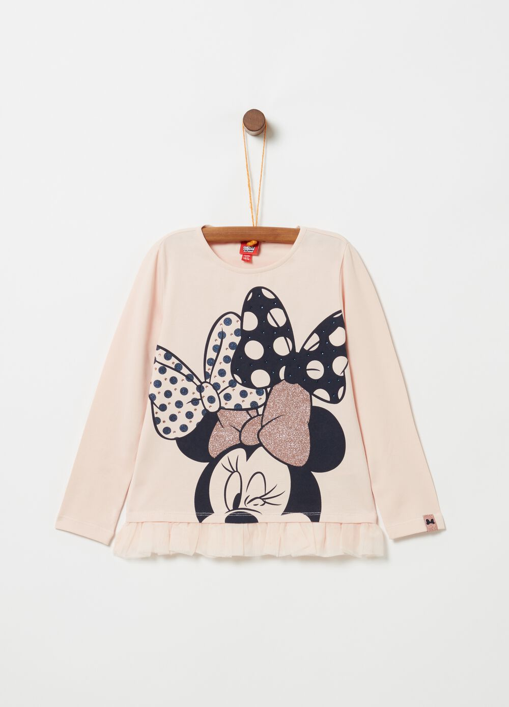 T-shirt a maniche lunghe Disney Minnie
