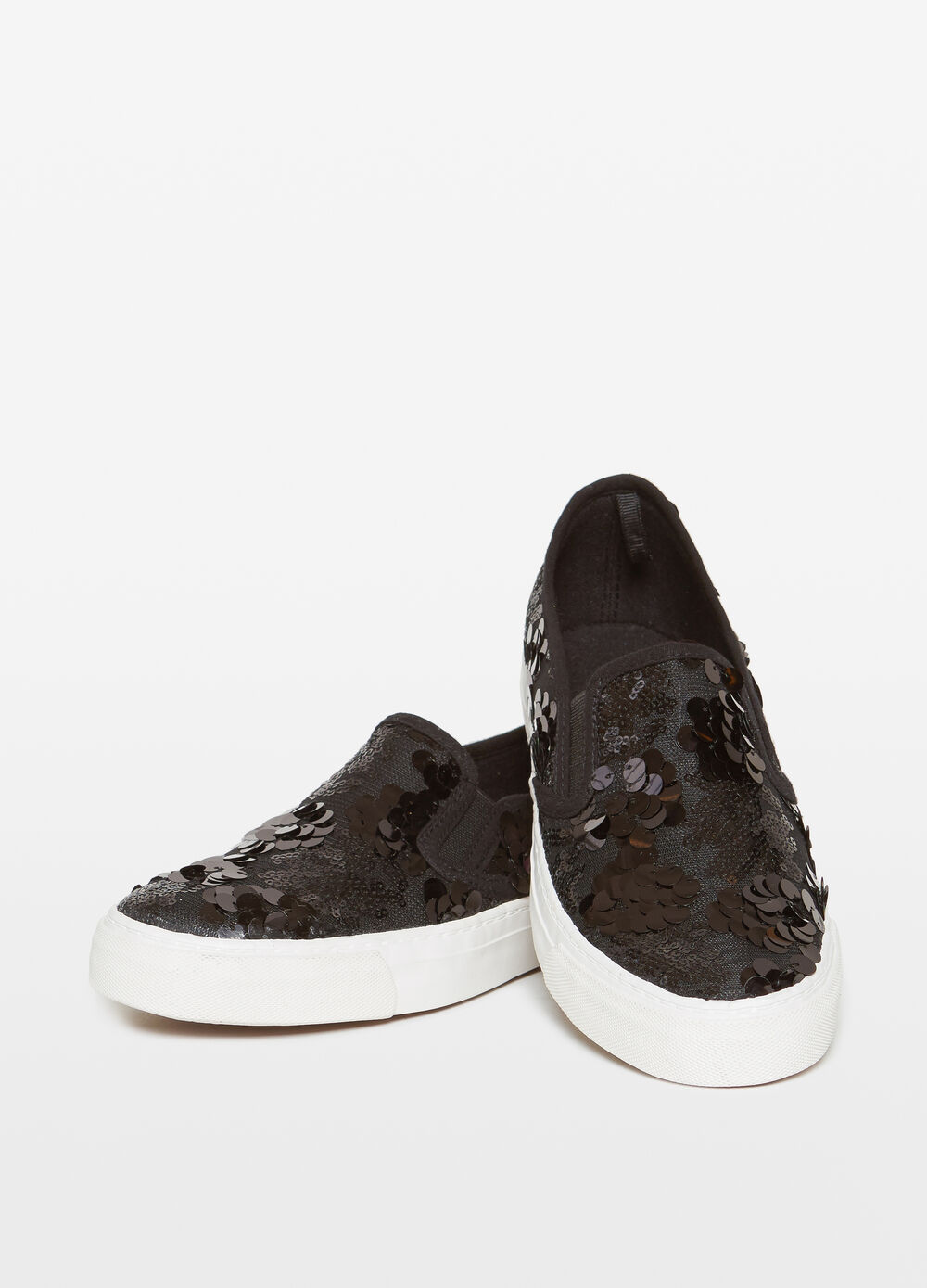 Slip on con paillettes