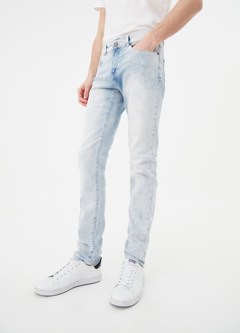 Skinny-fit stretch jeans image number null
