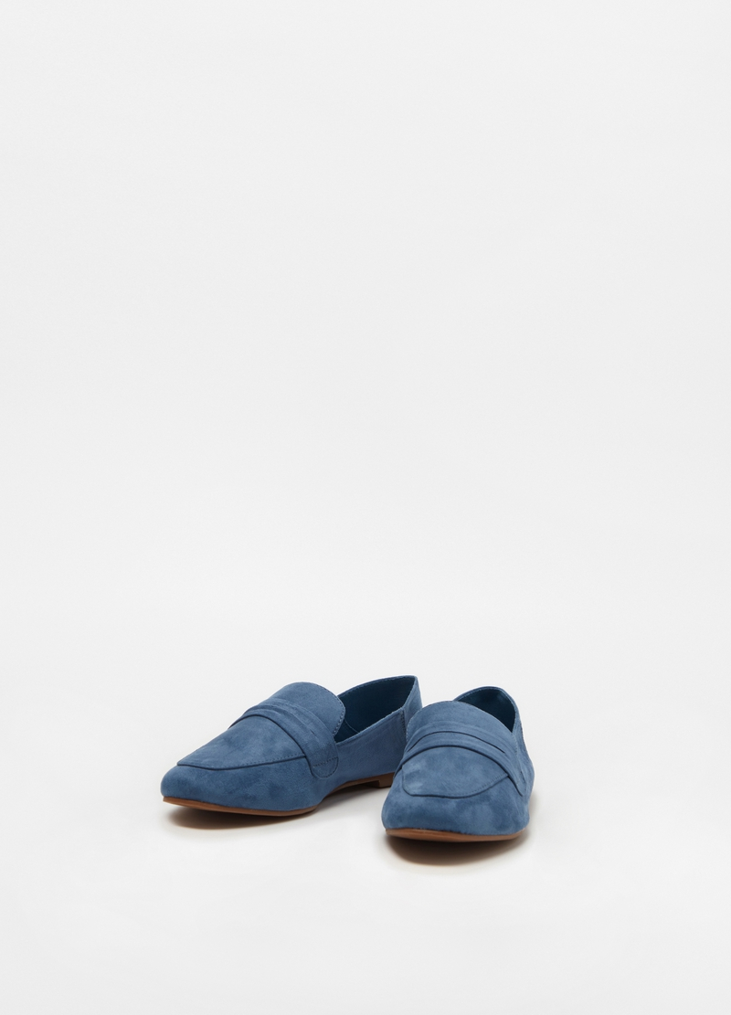 Suede college moccasins image number null