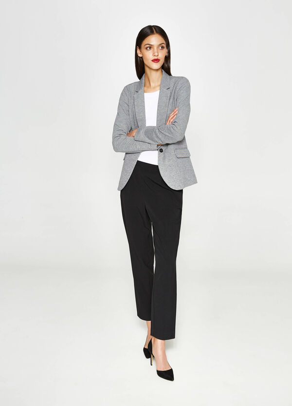 Pantaloni in misto viscosa stretch | OVS