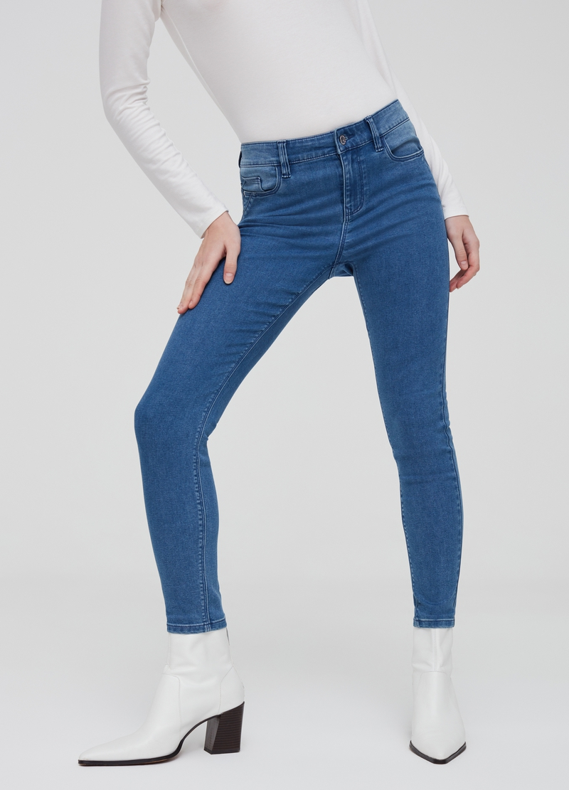 Jeans push-up stretch image number null