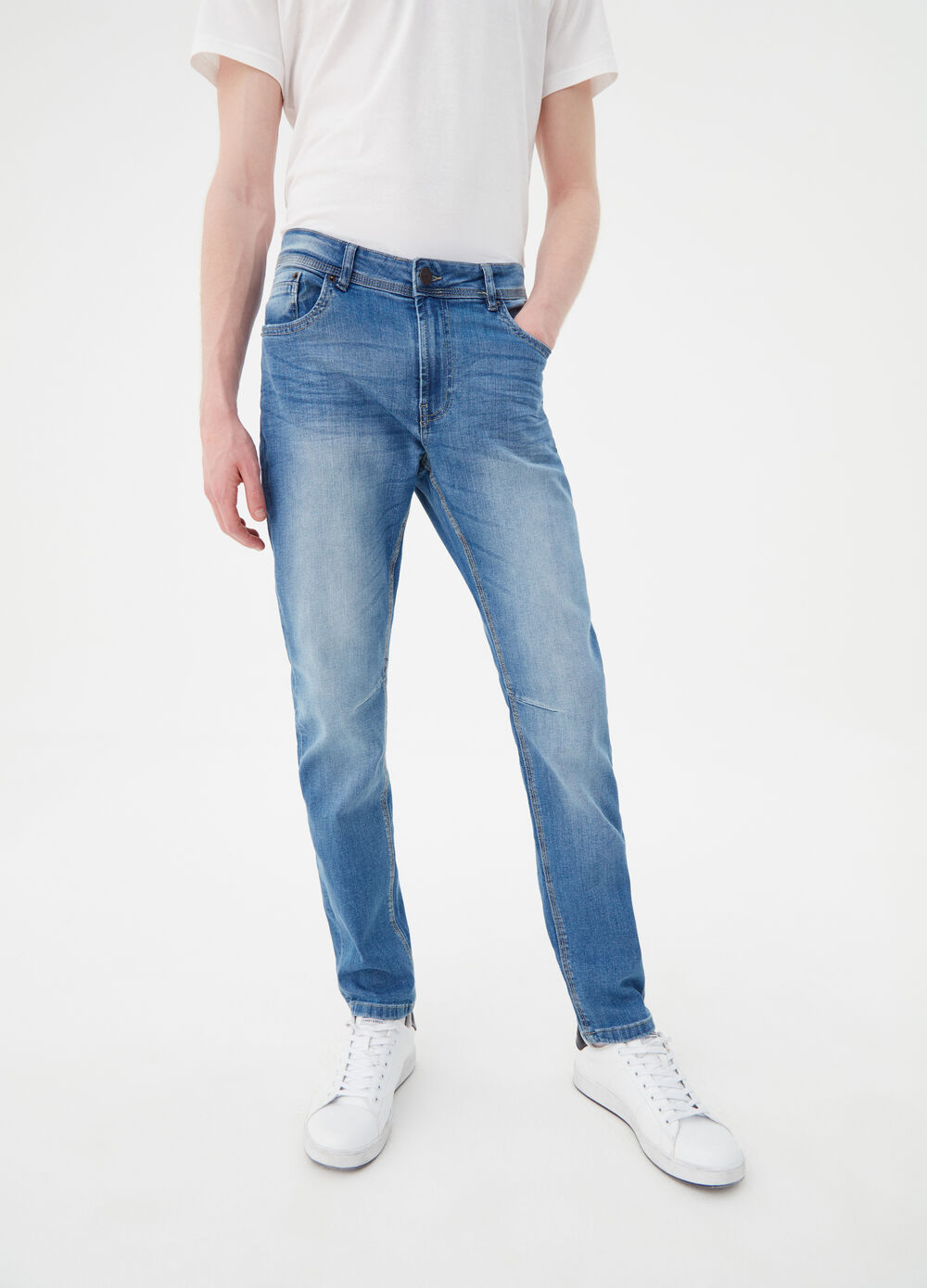 Jeans loose fit stretch