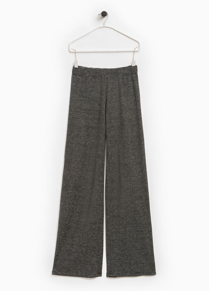 Smart Basic striped trousers