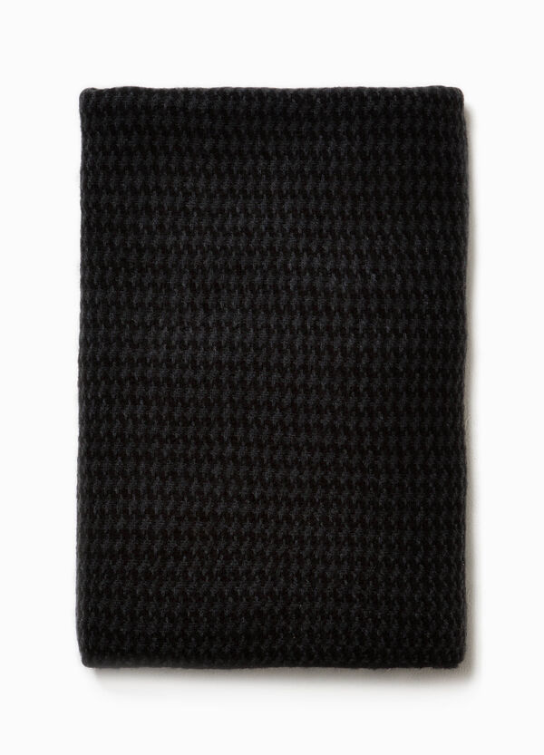 Two-tone knitted scarf | OVS