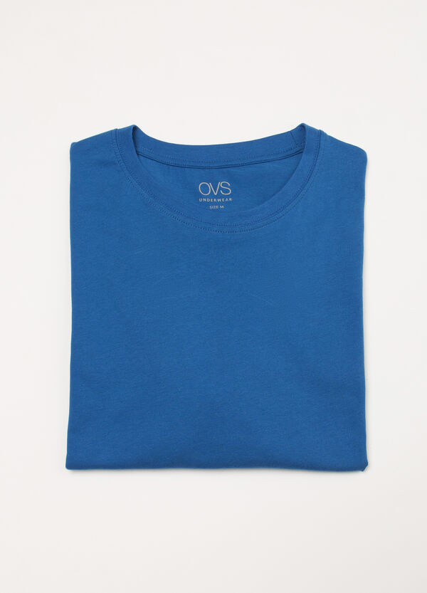 100% cotton undershirt with crew neck. | OVS
