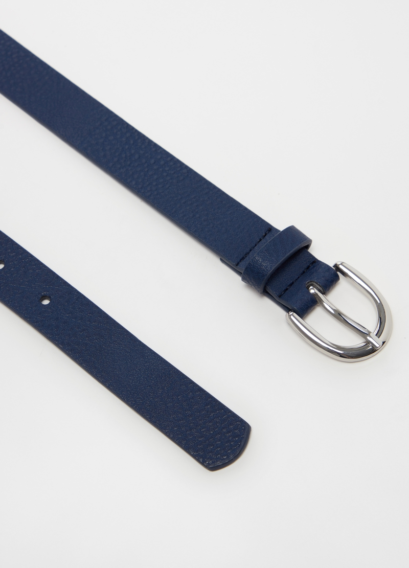 Solid colour belt with rounded buckle image number null