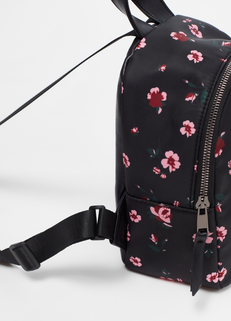 Rounded backpack with pattern image number null