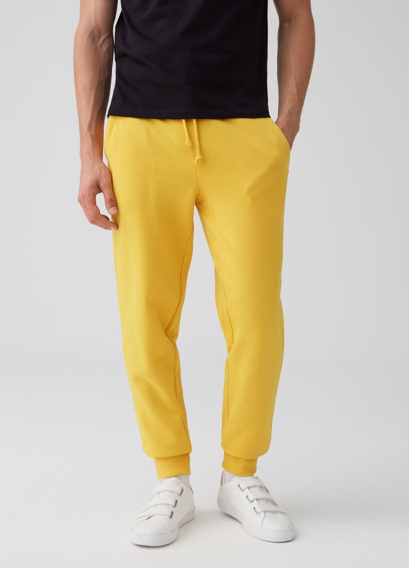 Pantaloni jogger con coulisse e tasche image number null
