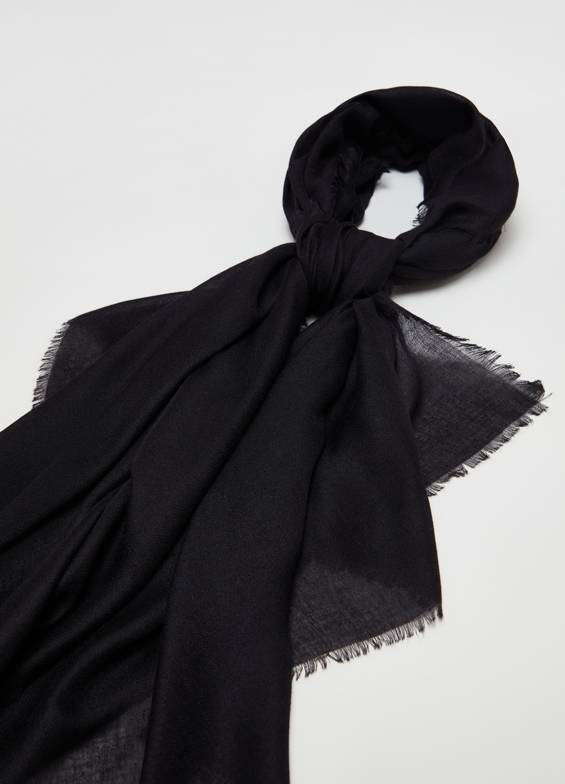 Solid colour pashmina image number null