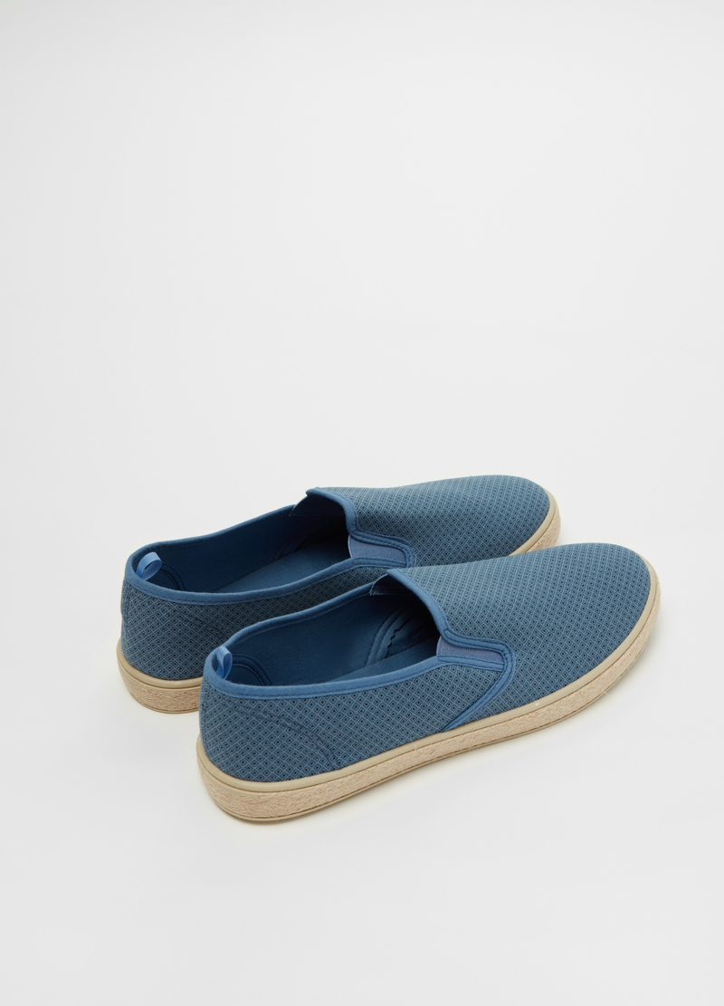 Slip on in cotone suola in corda image number null
