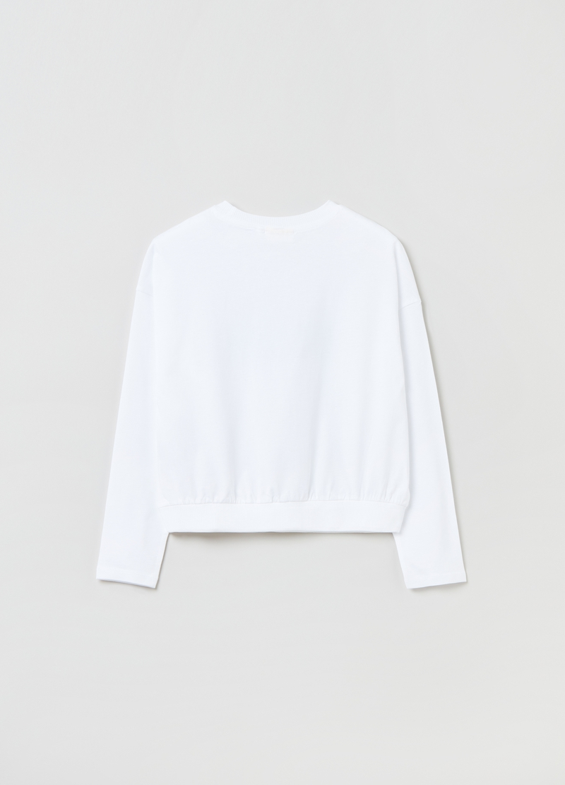 T-shirt oversize con stampa image number null