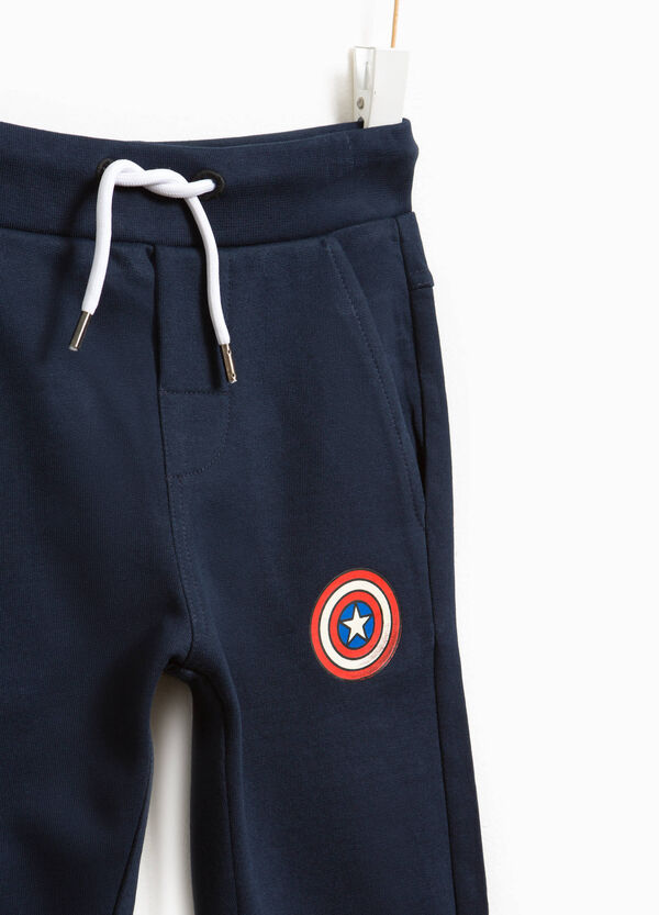 Joggers with Captain America print | OVS