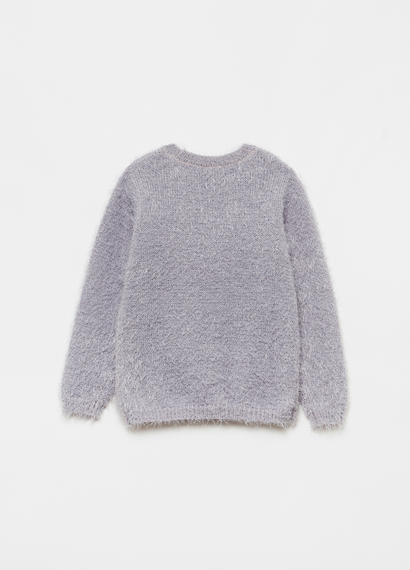 Christmas jumper Babbo Natale e paillettes image number null