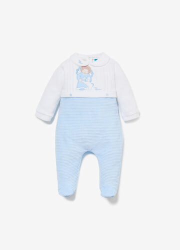 THUN Angels two-tone romper suit