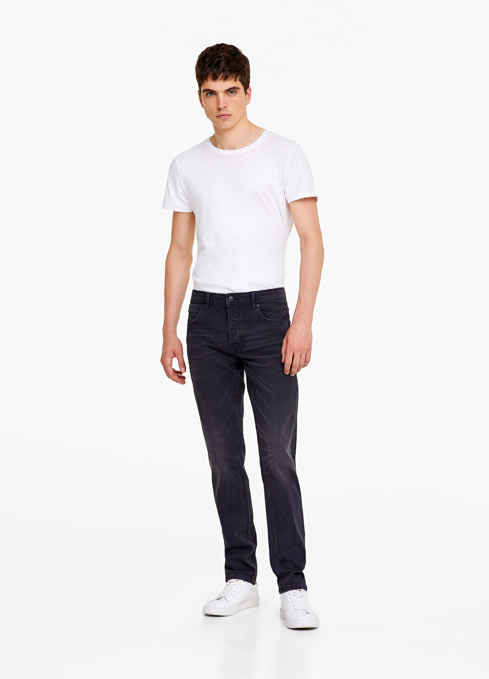 Slim-fit stretch jeans