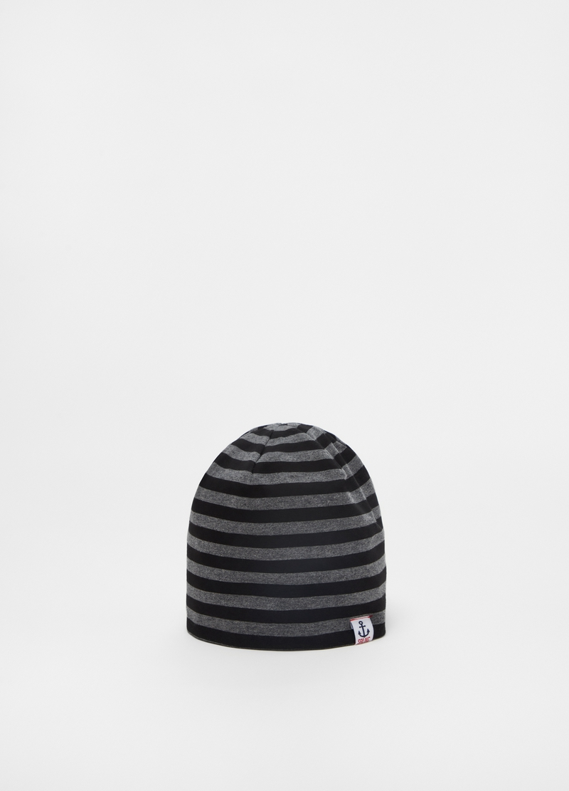 Striped jersey cap image number null