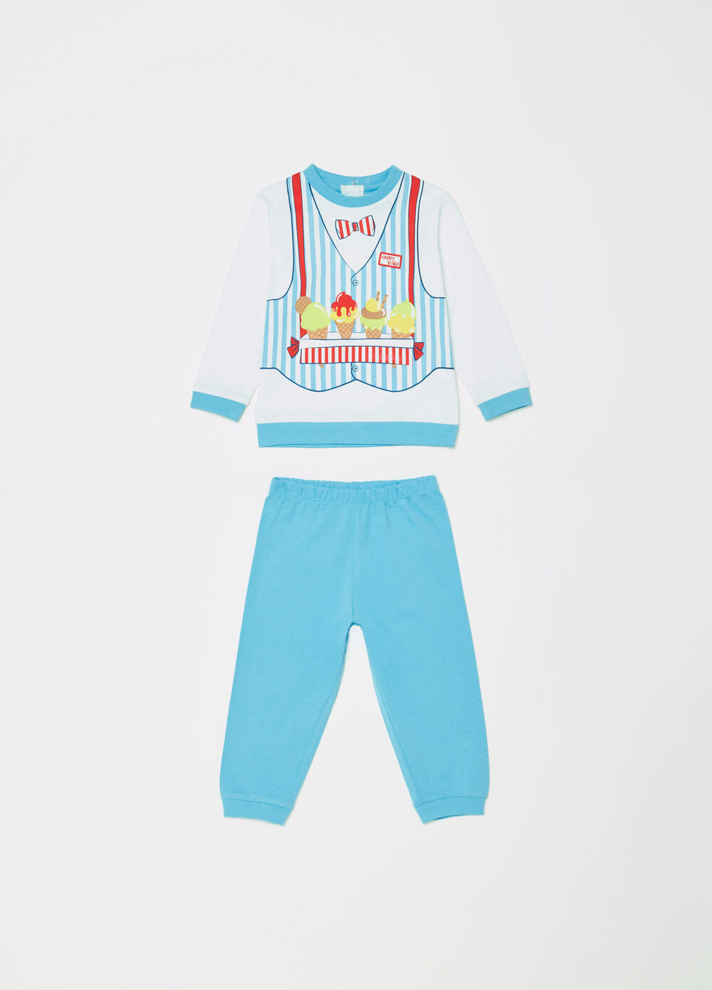 100% cotton pyjamas with ice creams