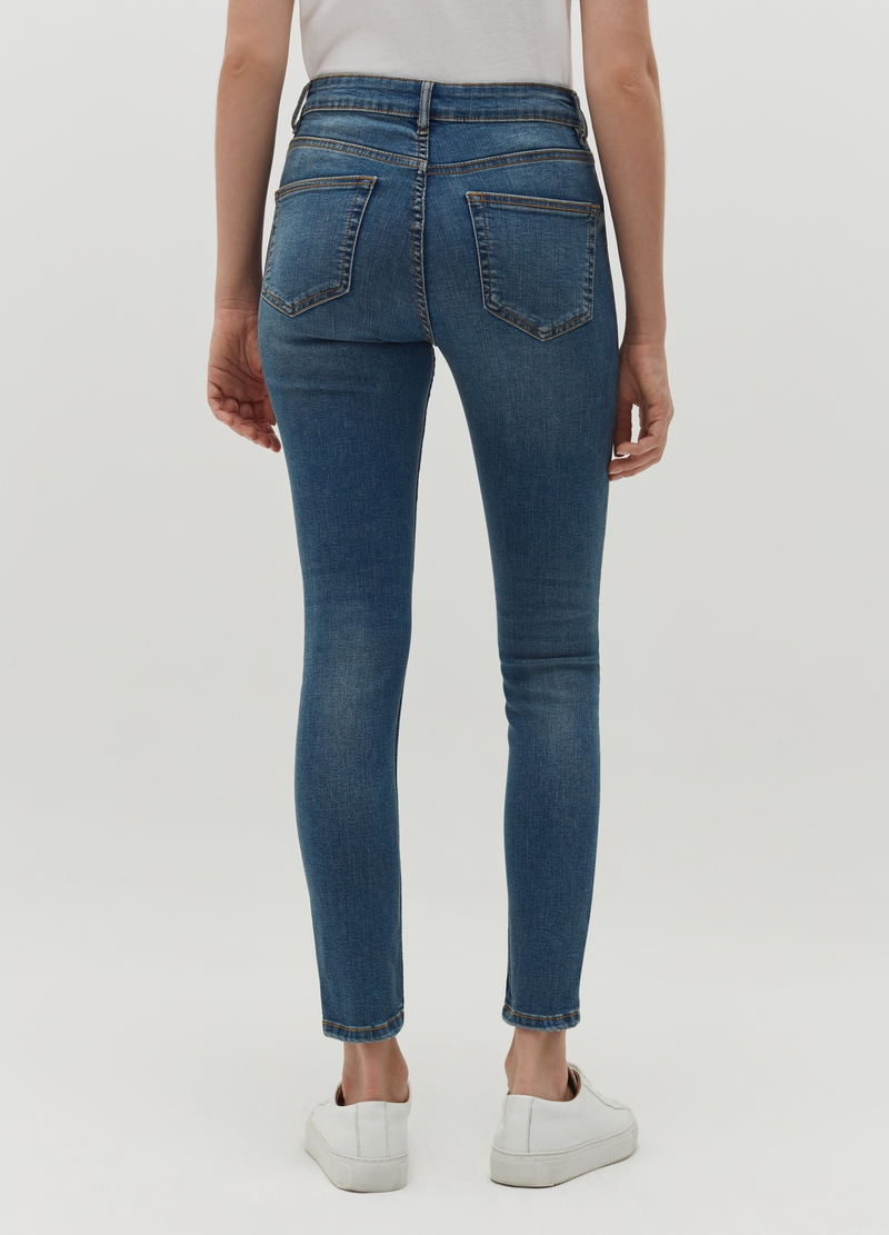 Skinny-fit ultra stretch jeans image number null