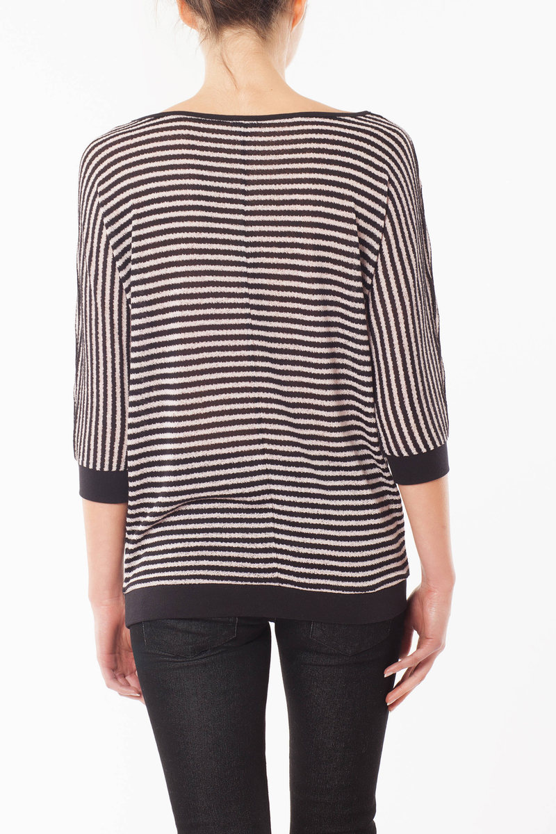 T-shirt in maglia image number null