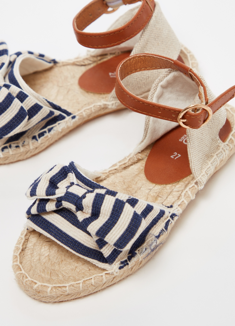 Espadrilles with ankle strap image number null