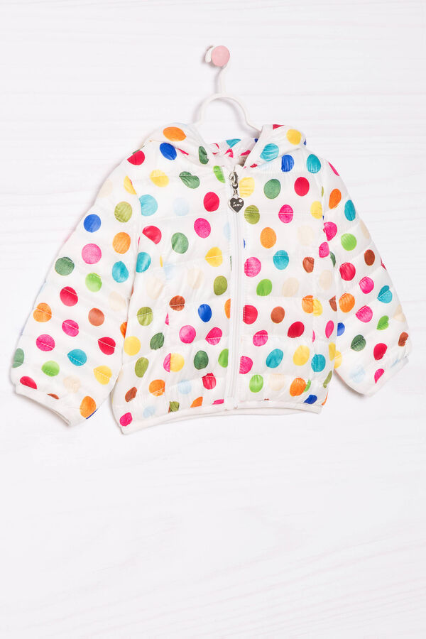 Patterned down jacket with hood | OVS