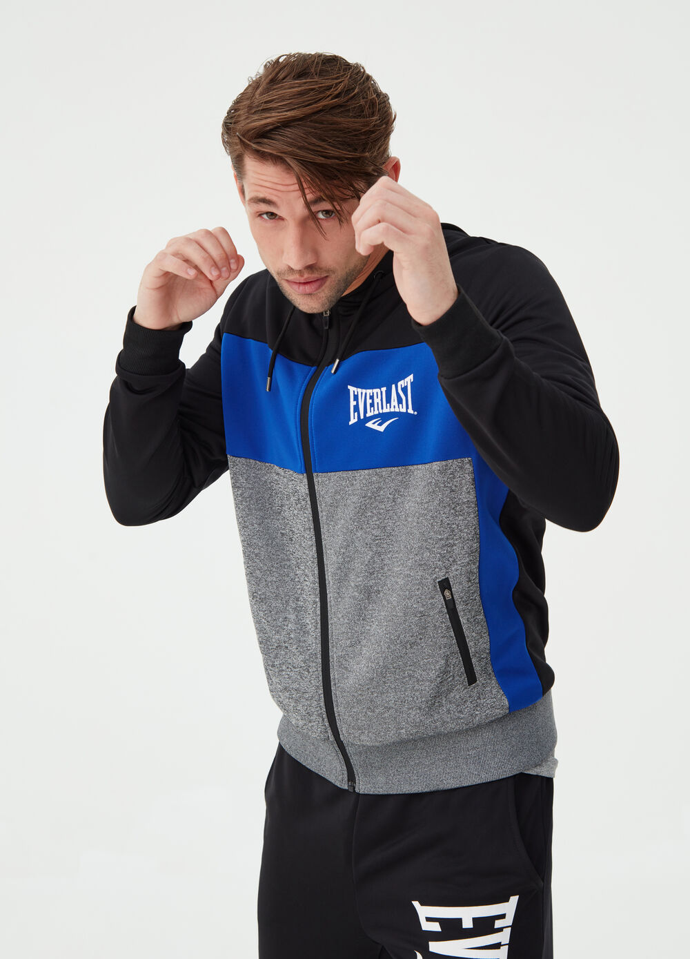 Everlast stretch sweatshirt with lettering
