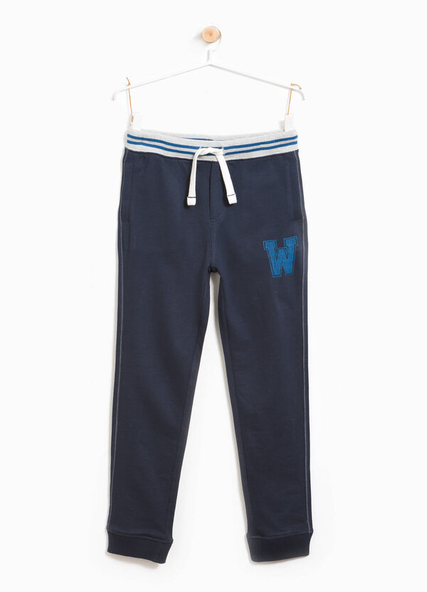 Joggers with printed lettering | OVS