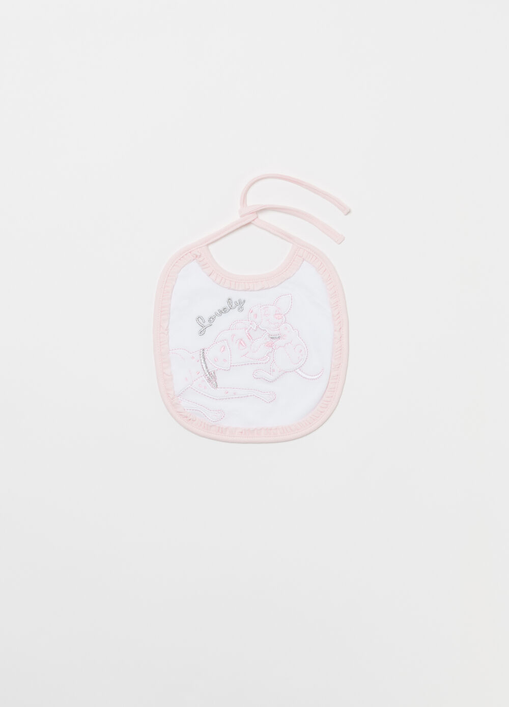 Disney Baby bib in 100% cotton