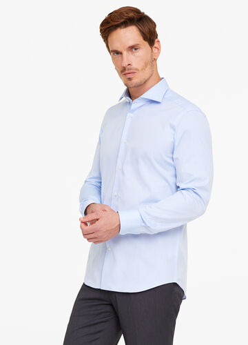 Slim-fit shirt in 100% cotton