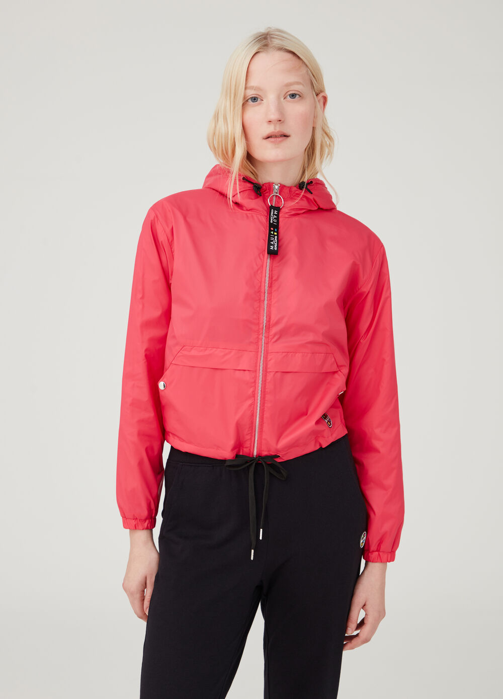 Nylon cagoule with hood by Maui and Sons