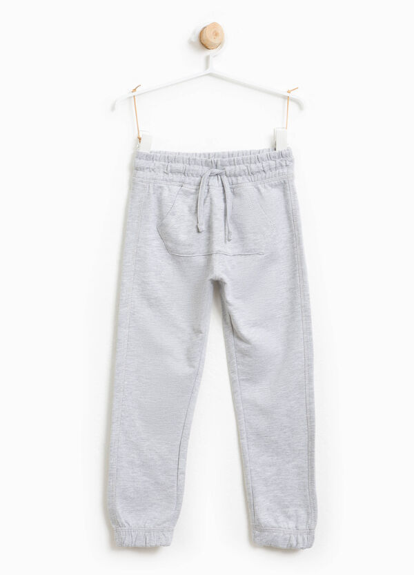 Cotton joggers with pouch pocket | OVS