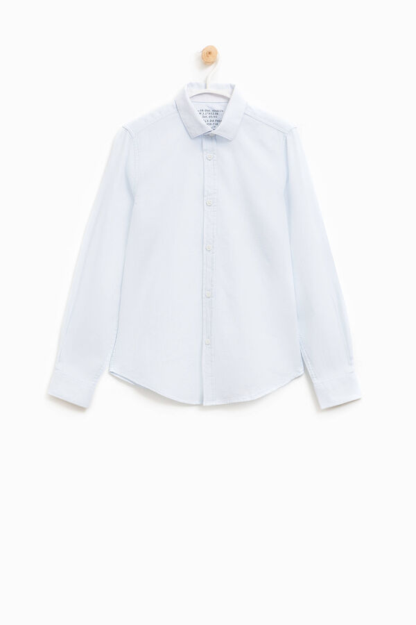 Ribbed shirt in 100% cotton | OVS