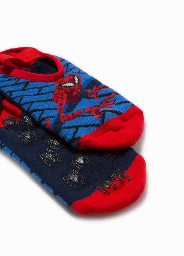 Cotton Spiderman slipper socks | OVS