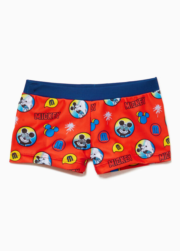Mickey Mouse stretch swim boxer shorts