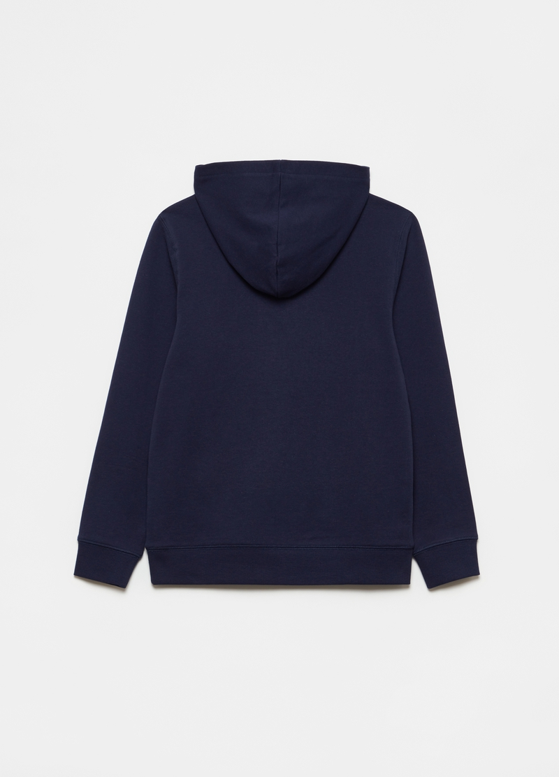 100% cotton sweatshirt with hood image number null