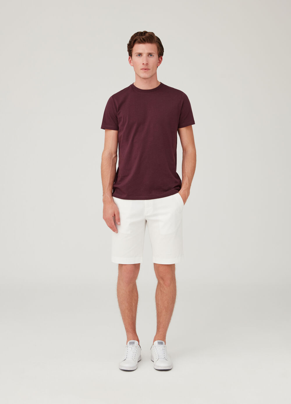 Shorts chino regular fit cinque tasche