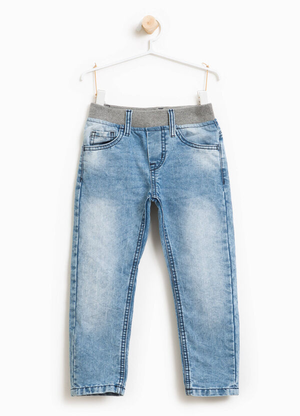 Misdyed jeans with fading | OVS