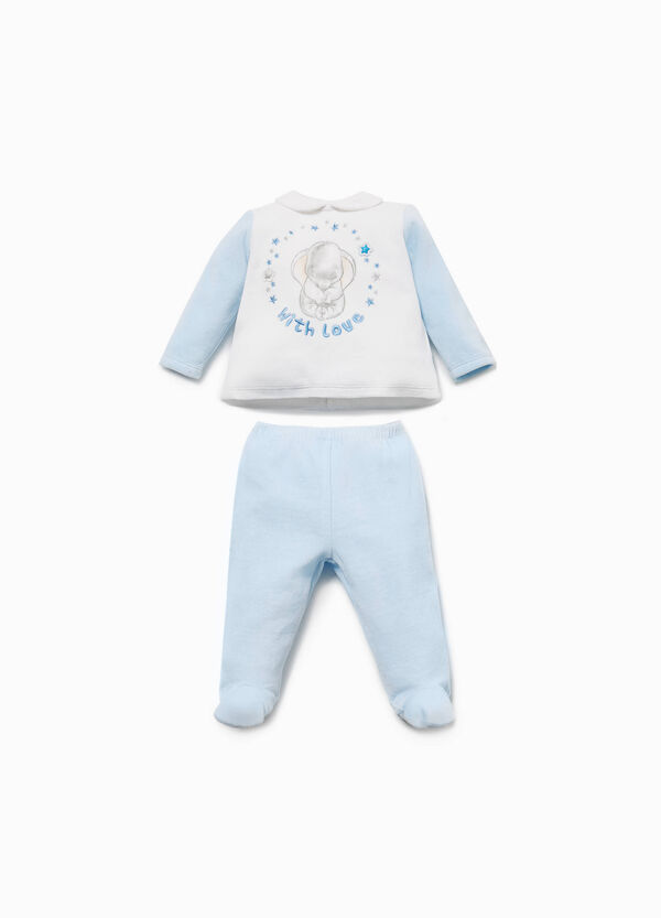 Dumbo T-shirt and baby leggings set