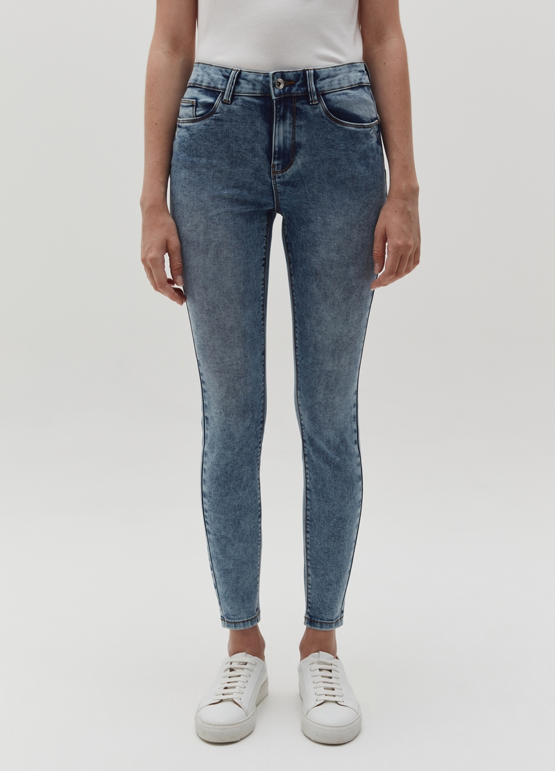 Push-up jeans with five pockets image number null