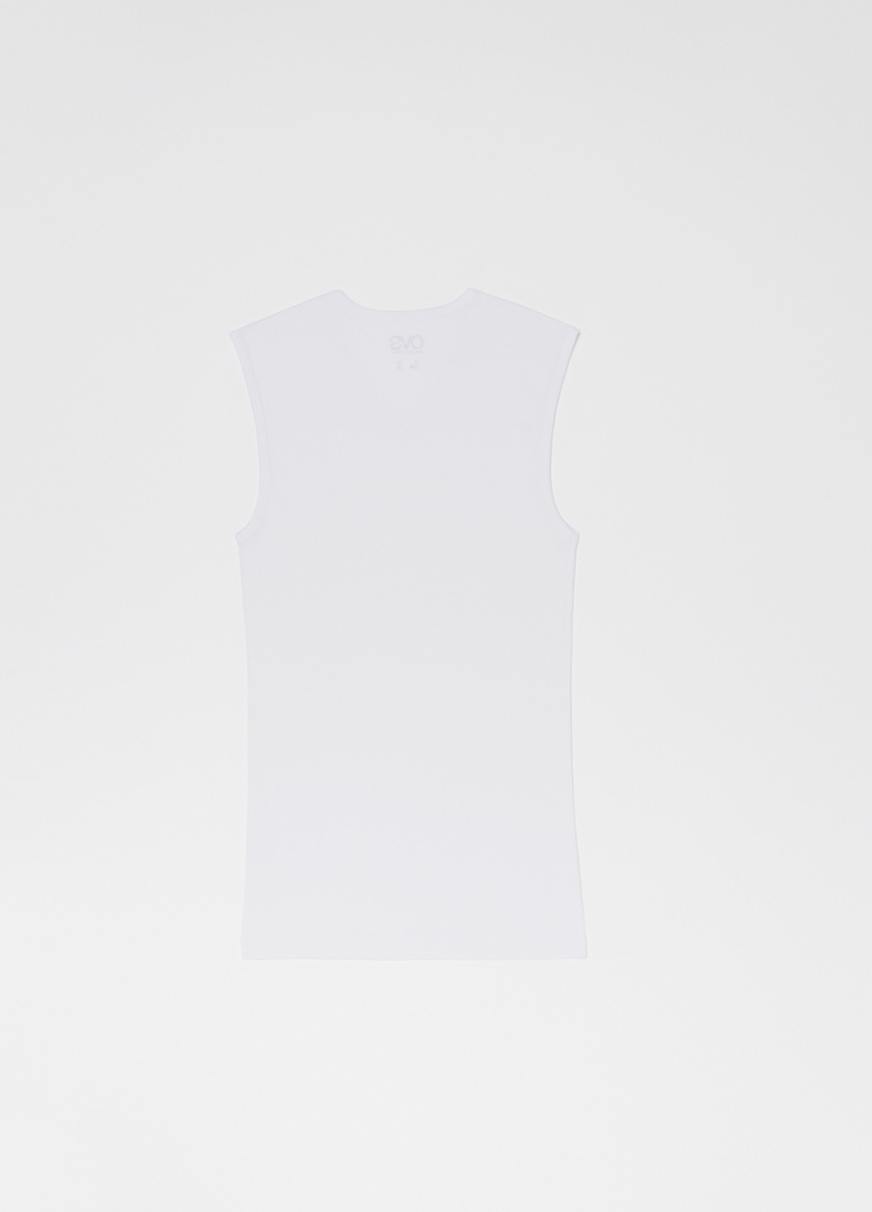 100% organic cotton vest image number null