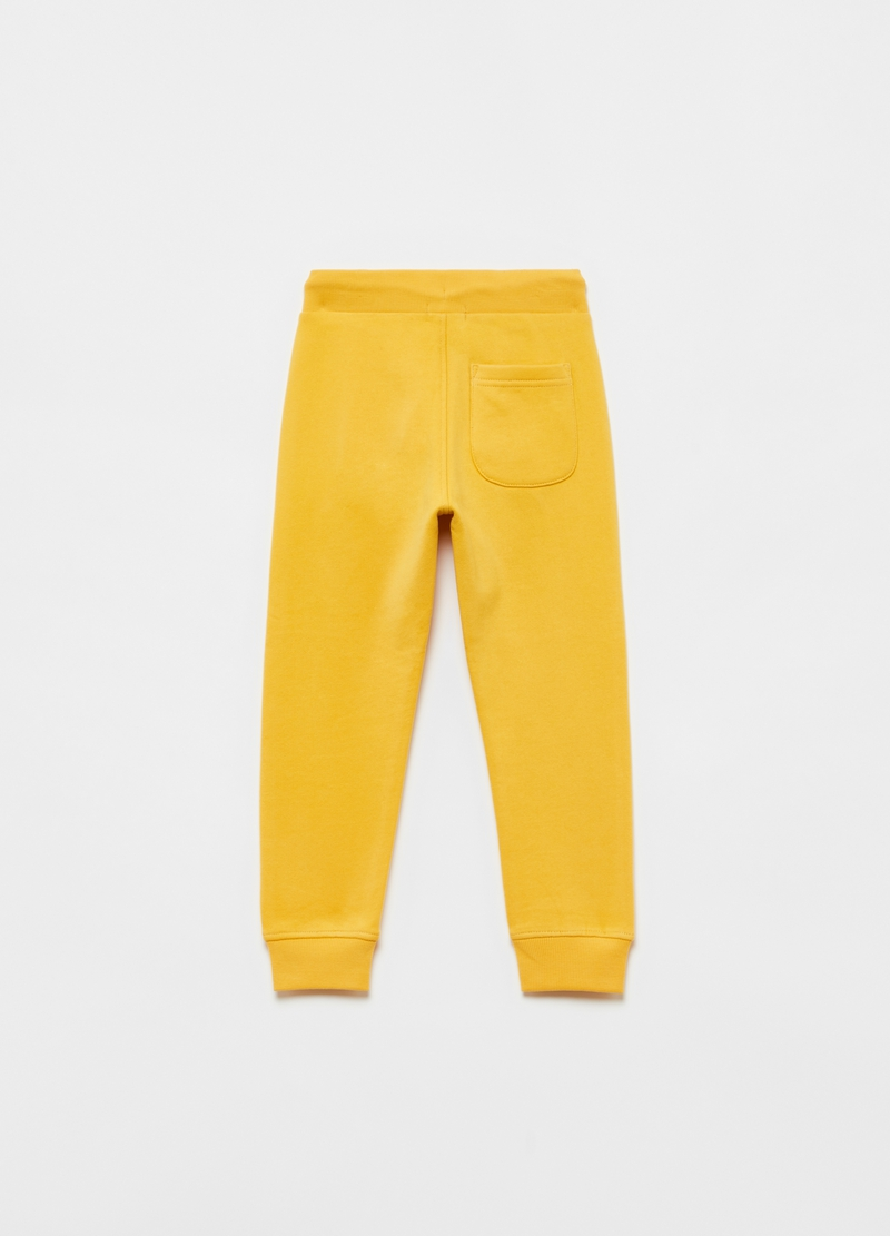 Joggers in puro cotone con tasche image number null