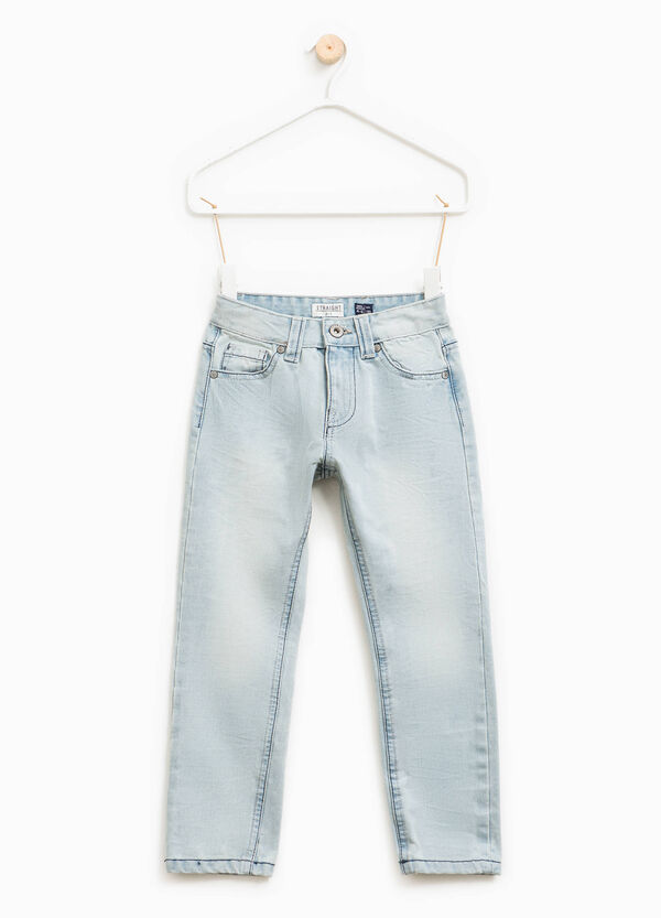 Jeans with contrasting seams | OVS