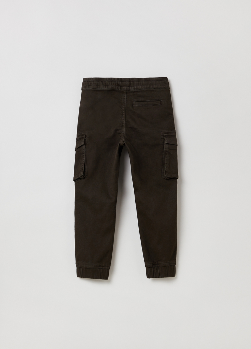 Joggers cargo con coulisse image number null