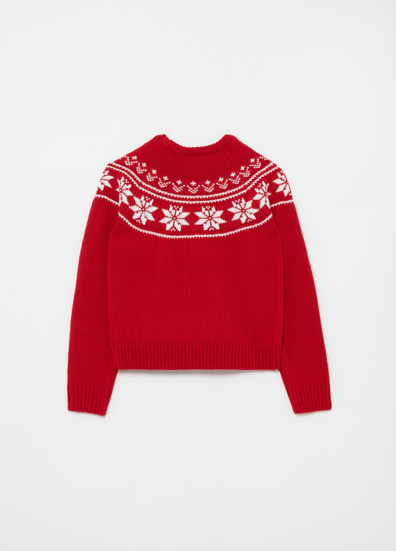 Christmas Jumper maniche raglan image number null
