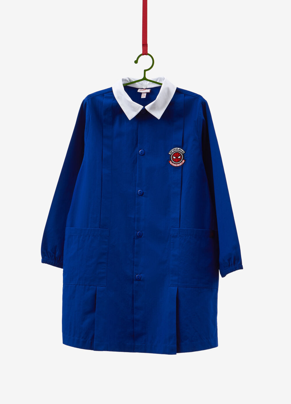 Solid colour Spiderman smock